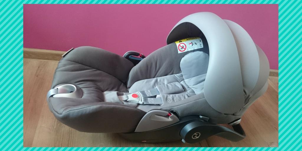 Cybex Cloud Q rozkładany fotelik dla niemowląt.