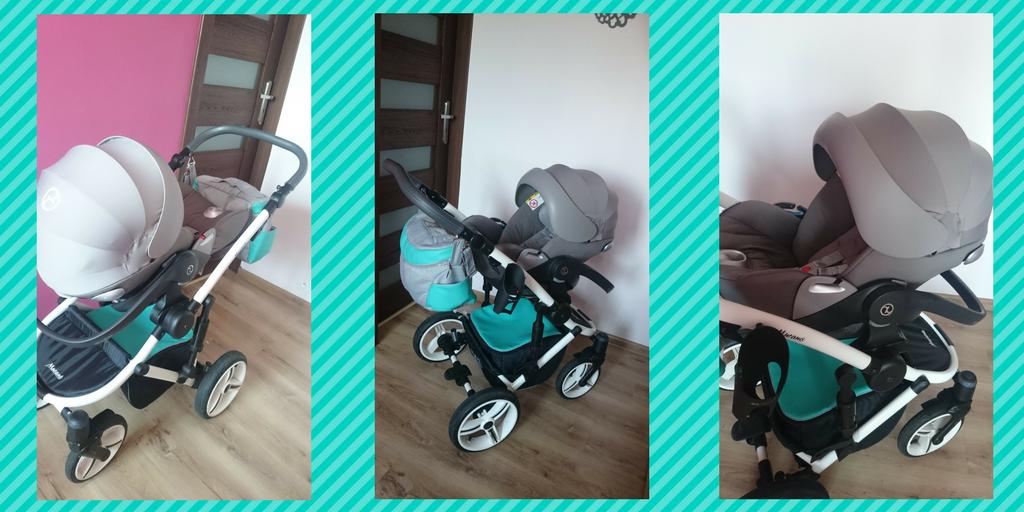 Cybex Cloud Q fotelik dotransportu niemowląt do18 kg.