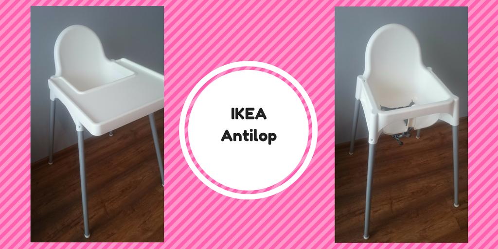 Krzesełko doi karmienia Ikea Antilop.