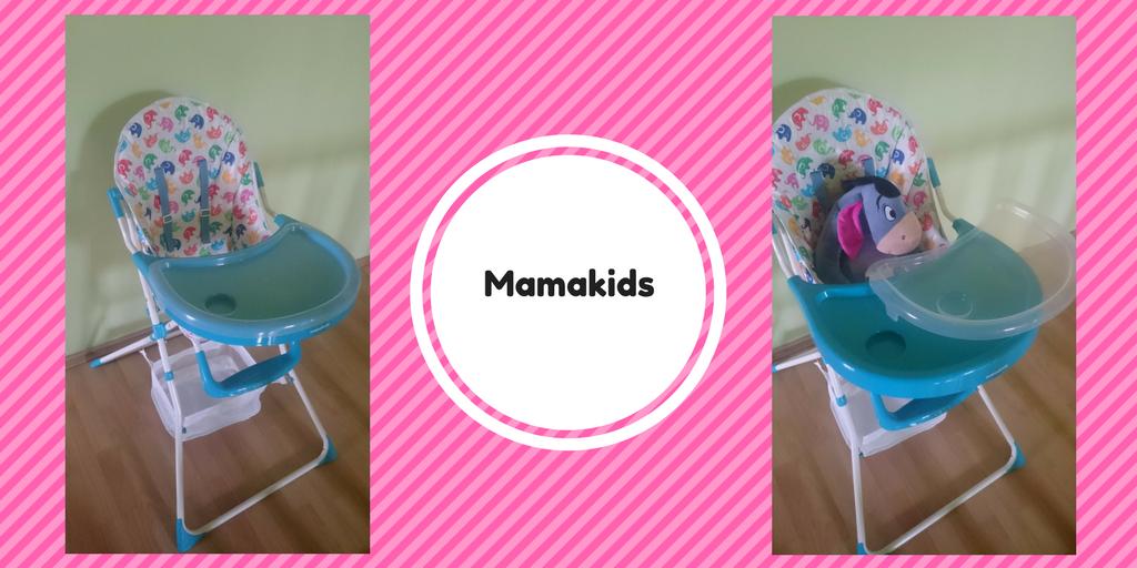 Krzesełko dokarmienia dla niemowląt idzieci Mamakids.
