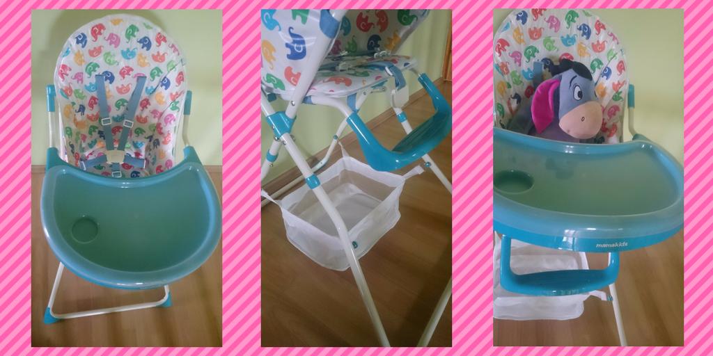 Krzesełko dokarmienia dla dzieci iniemowląt.