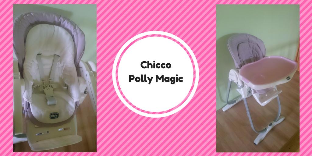 Krzesełko dokarmienia Chicco Polly Magic.