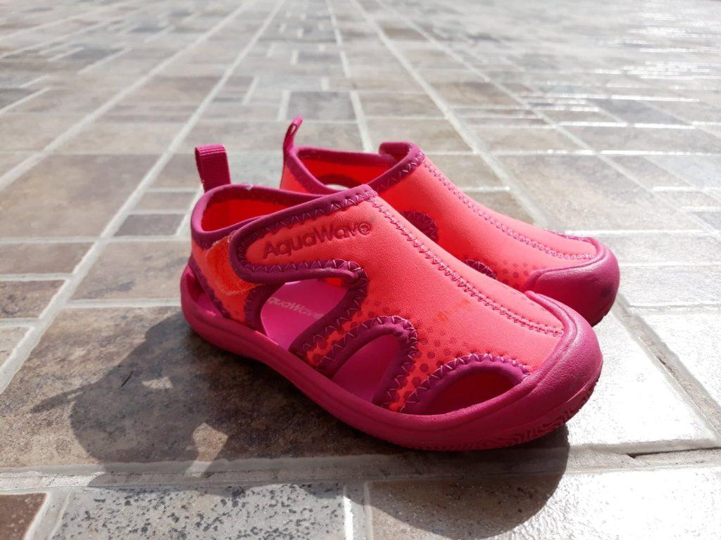 Buty dowody, dopływania dla dzieci Aquewave.