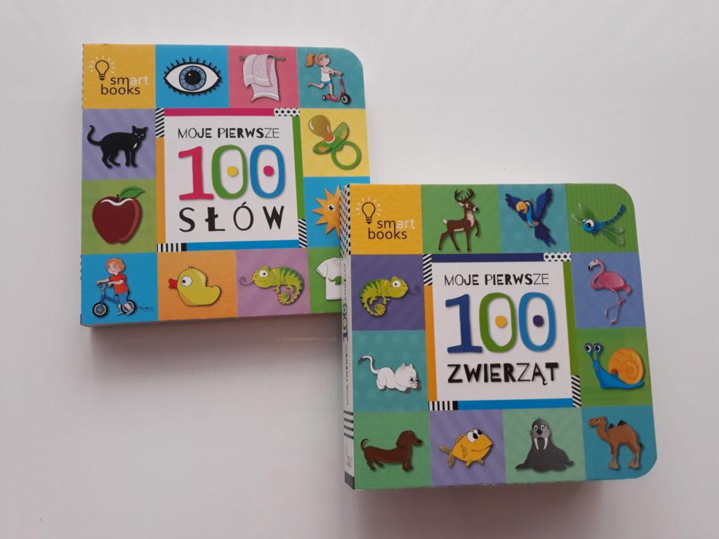 Książki donauki mowy. Pierwsze 100 słów. Pierwsze 100 zwierząt.