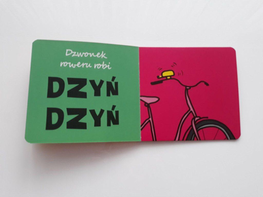 Książka dla dzieci OnoMaTo. Hałaśliwe przedmioty.