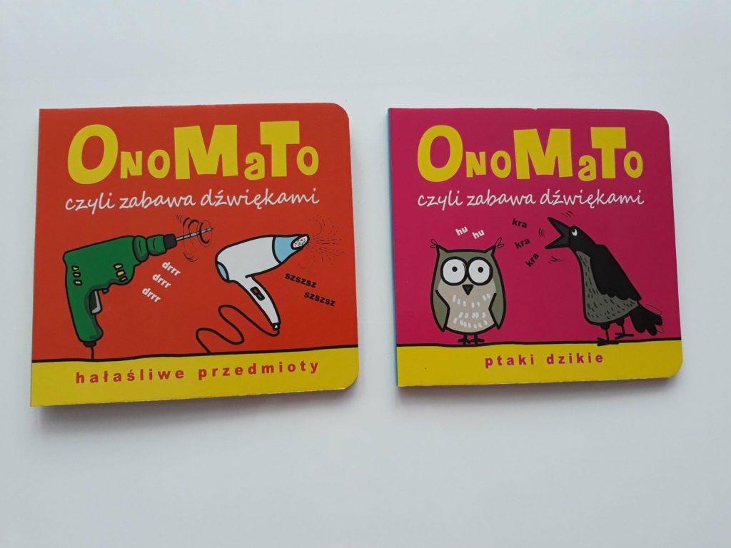 OnoMaTo, książka wspierająca rozwój mowy.