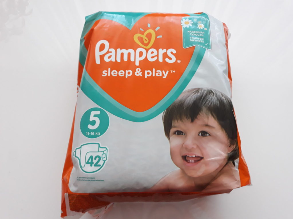 Pielkuchy Pampers Sleep&Play.