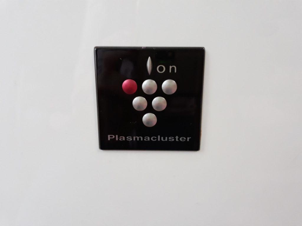 Oczyszczacz powietrza Sharp KC-930EUW ztechnologią Plasmacluster.