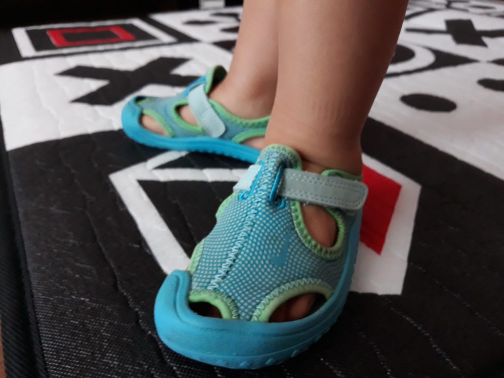 Buty Nike sandałki, dowody.