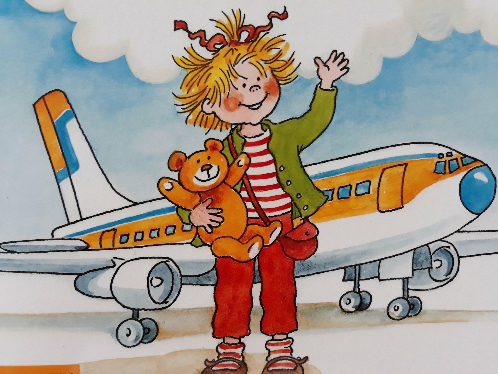 Zabawki do samolotu, co zabrać. Zuzia leci samolotem.