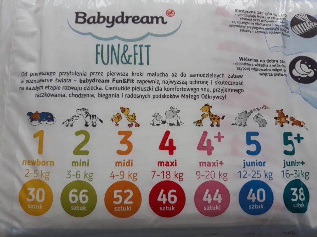 Baby dream pieluchy opinie.