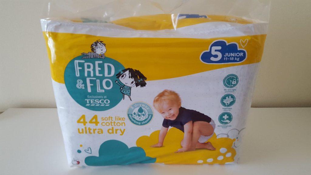 Fred & Flo pieluchy Tesco.