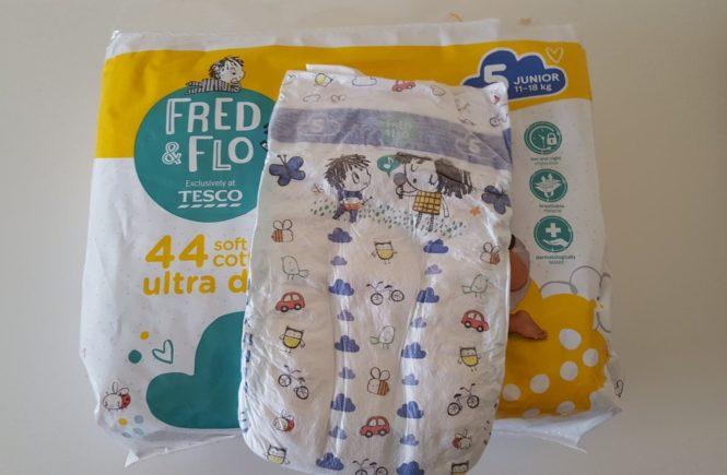 Pieluchy z Tesco Fred&Flo zamiast Tesco Loves Baby.