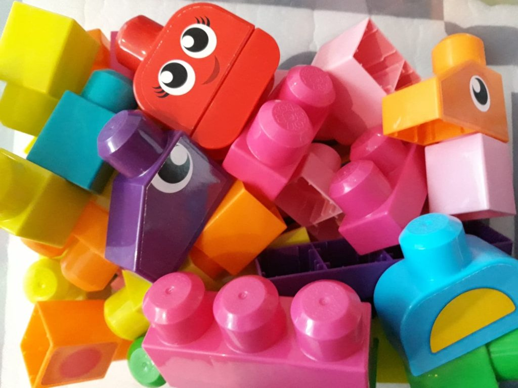 Klocki Mega Blocks Fisher Price.