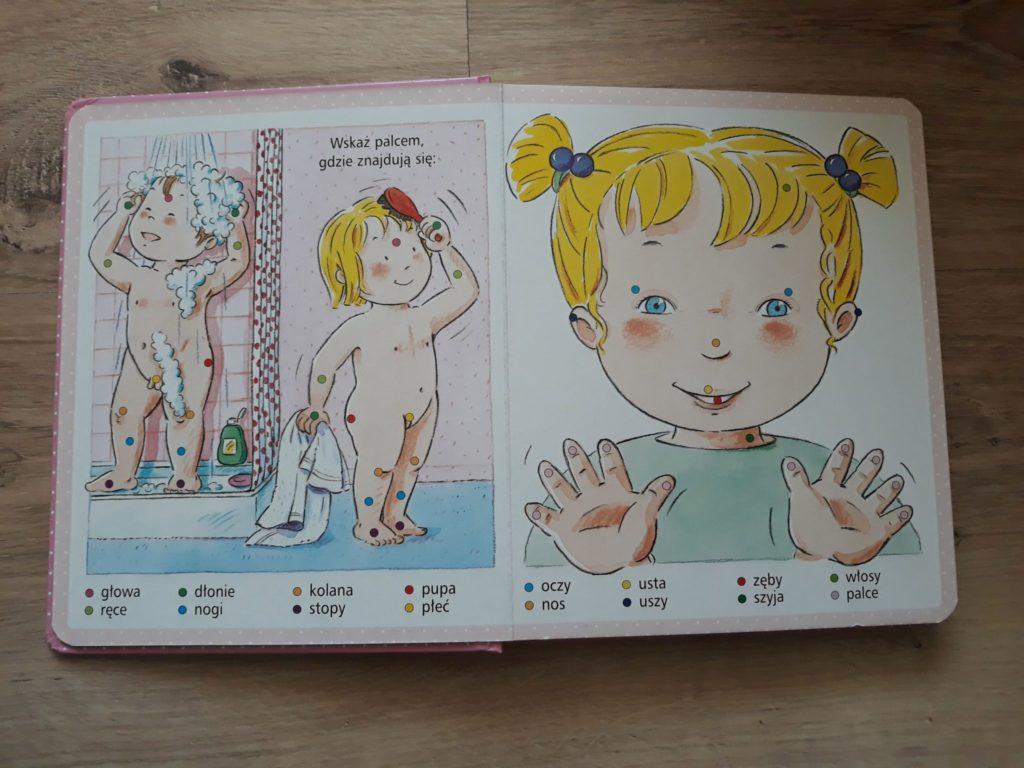 Obrazki dla maluchów. Nasze ciało.