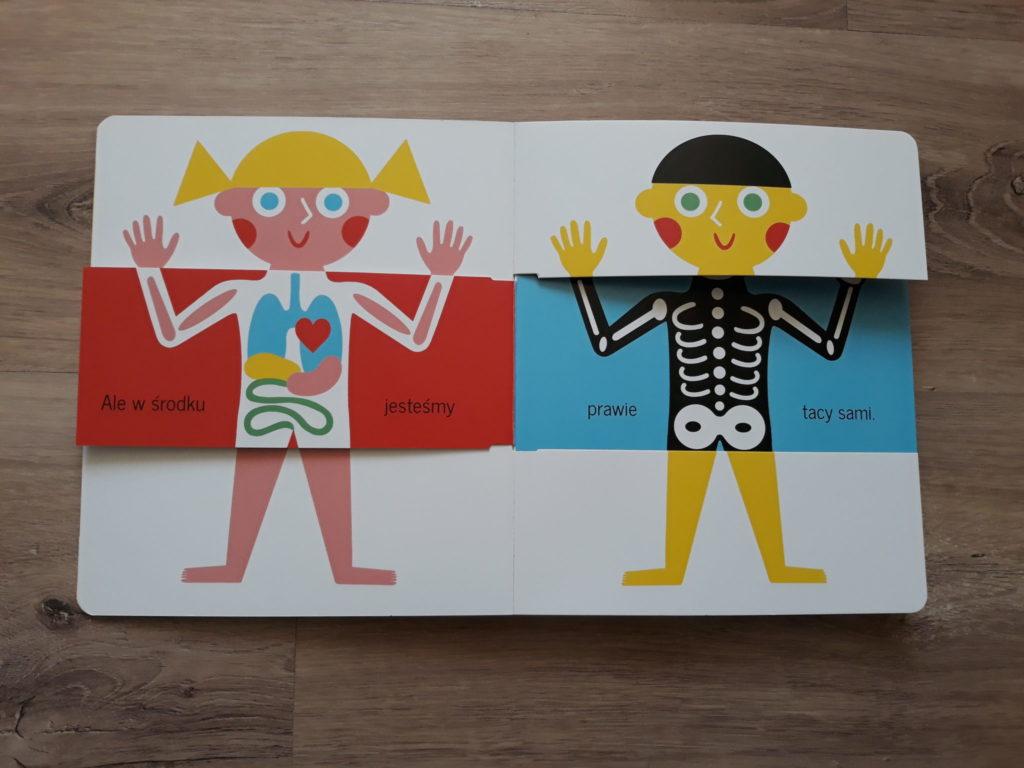 Nasze ciało książka dla dzieci naprezent.