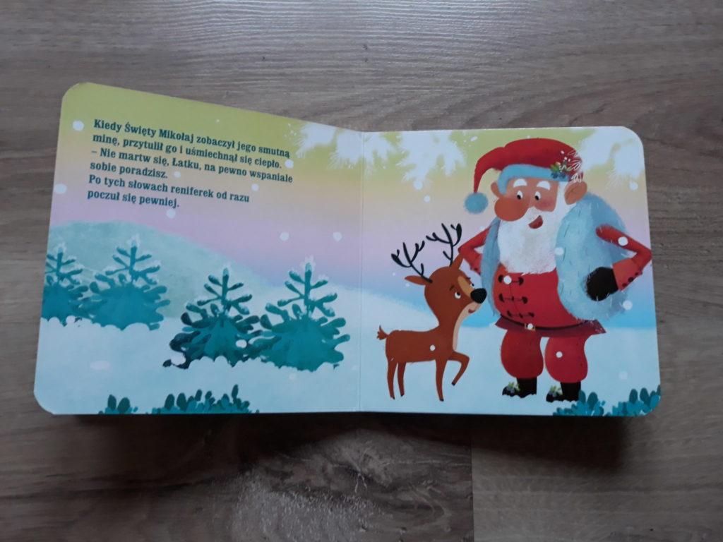 Święta reniferka książka dla dzieci.