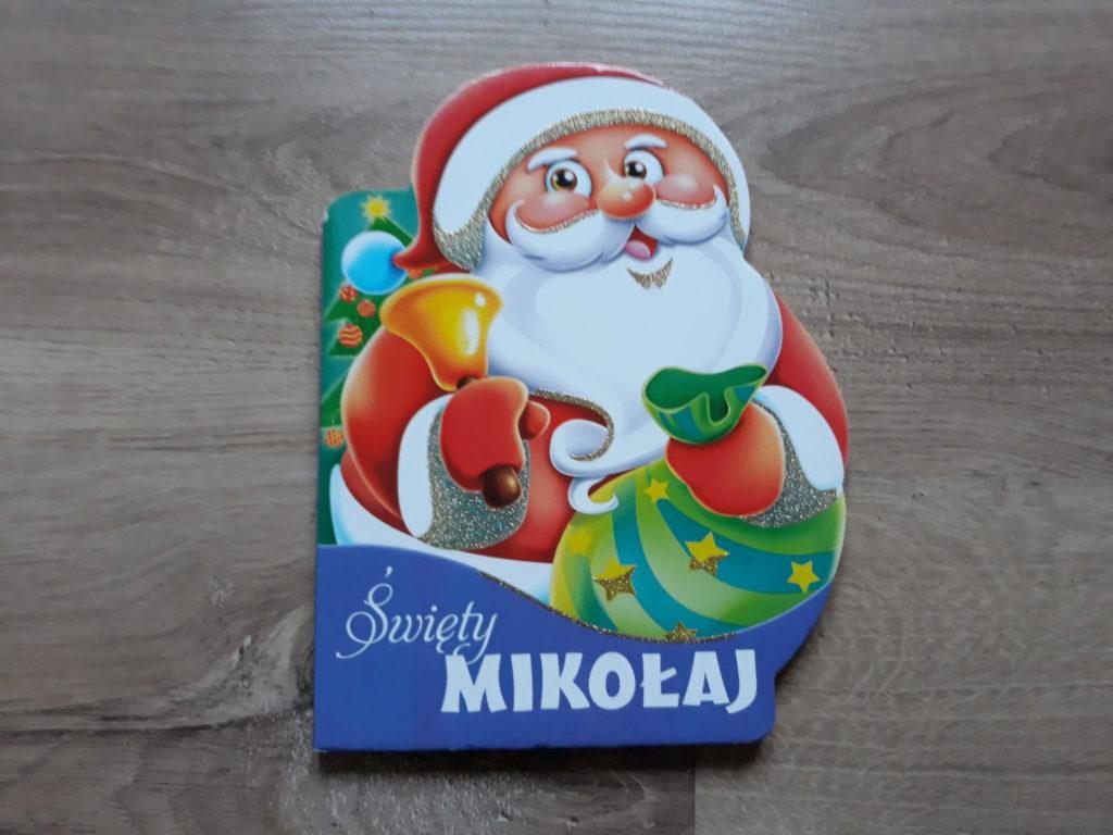 Mikołaj książka dla dzieci.