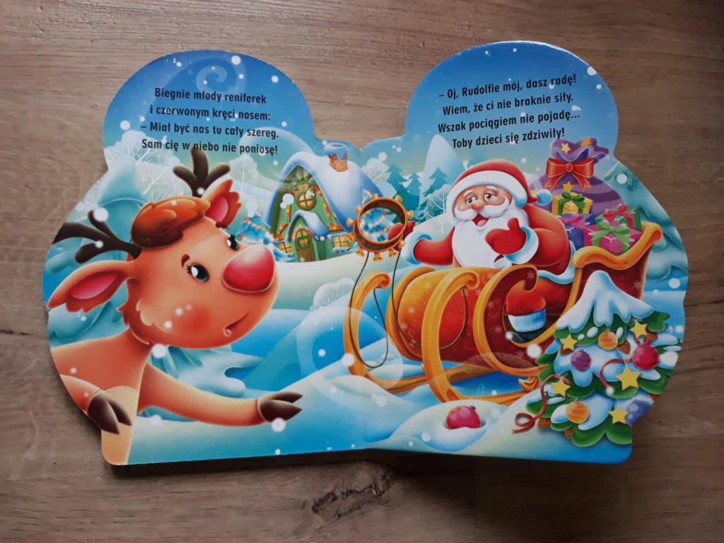 Książki dla dzieci Święty Mikołaj.