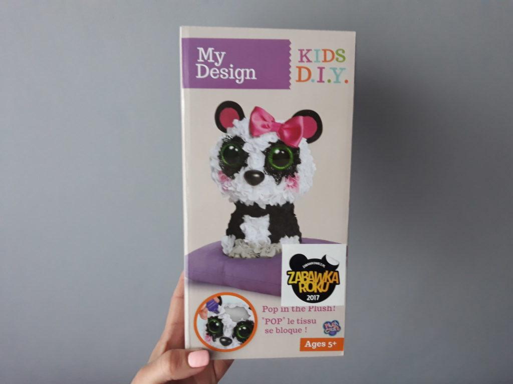 Zabawka dla dziewczynek. My design panda.