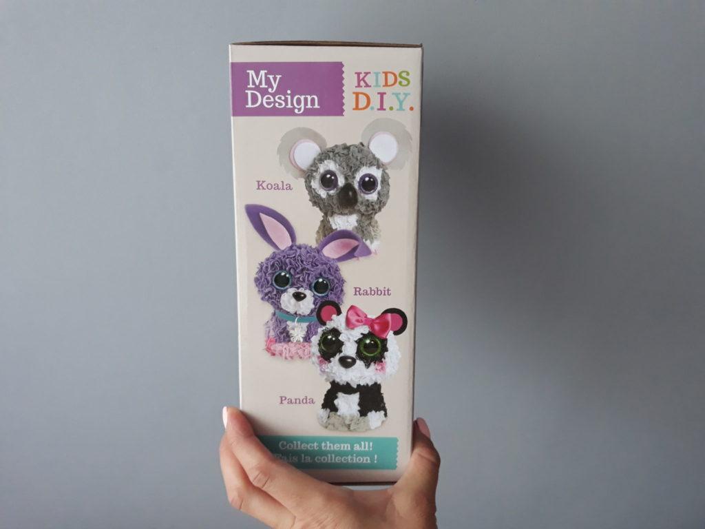 My design kids d.i.y: panda, królik, koala.