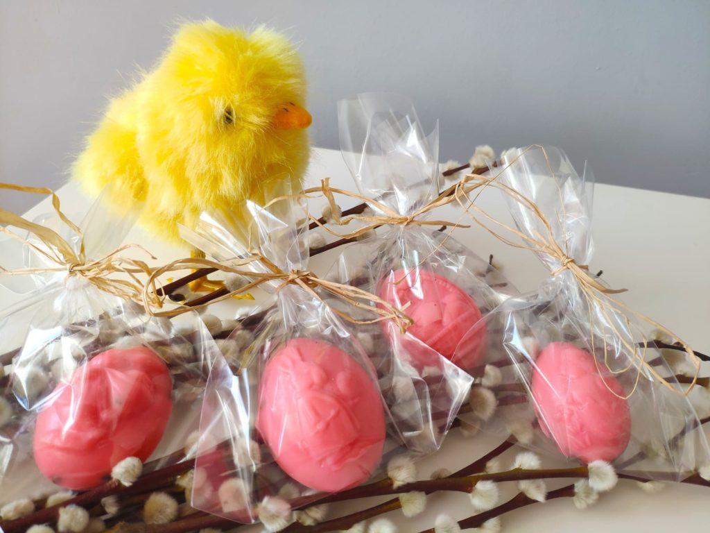 Mydełka, zrób tosam. Upominki Wielkanocne.