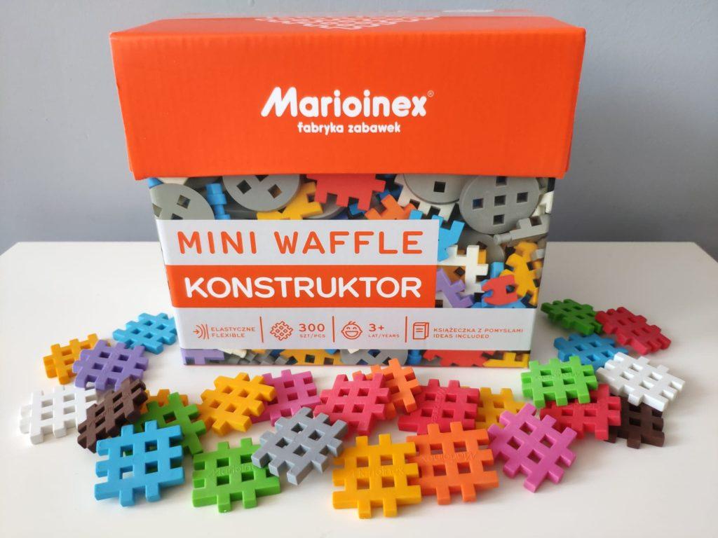 Klocki mini wafle konstruktor Marioinex.
