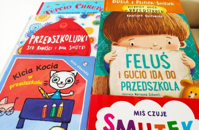 Książeczki o przedszkolu.