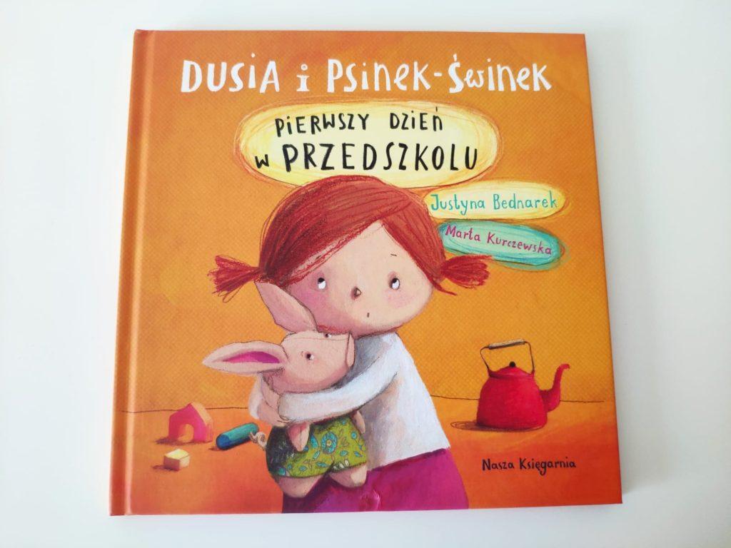 Dusia iPsinek-Świnek pierwszy dzień wprzedszkolu.