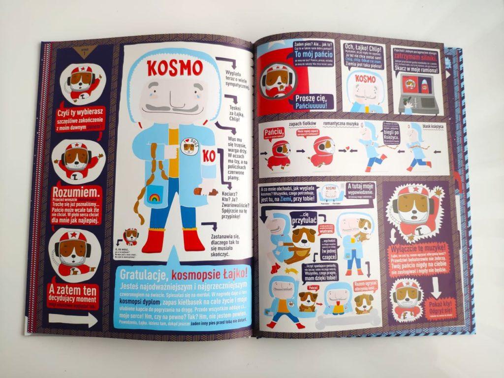 Łajka kosmiczny pies. Książka dla dzieci.